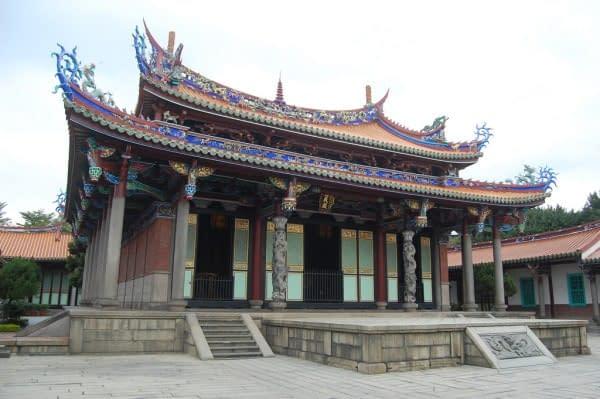 tempio confuciano Taipei Taiwan