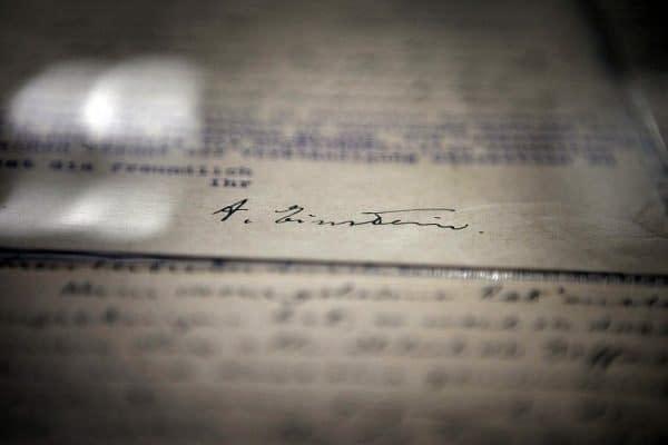 lettera di einstein
