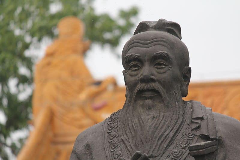 statua di Confucio cultura cinese