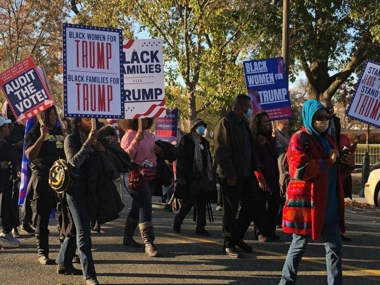 manifestazioni pro Trump