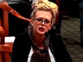 Melissa Carone testimonianza senato Dominion