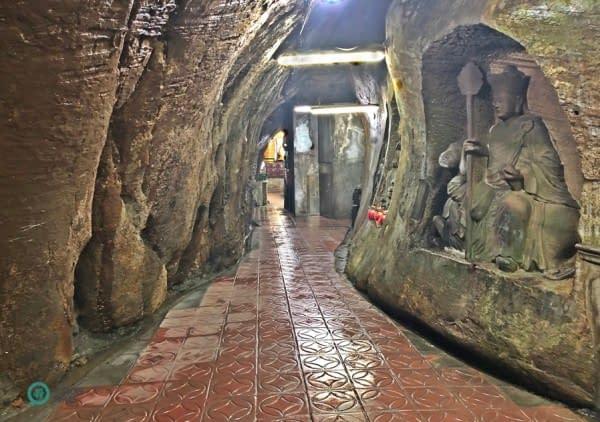 grotta sculture Buddha