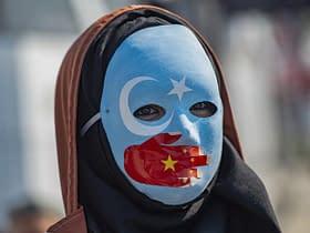 manifestazione uiguri