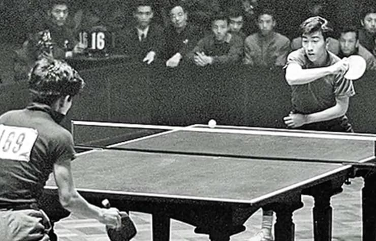 USA Cina ping pong gioco