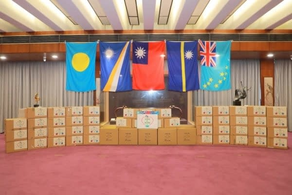 Taiwan coronavirus maschere donazioni