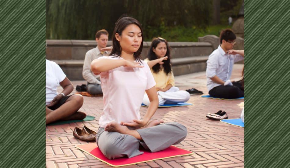 praticanti Falun Gong