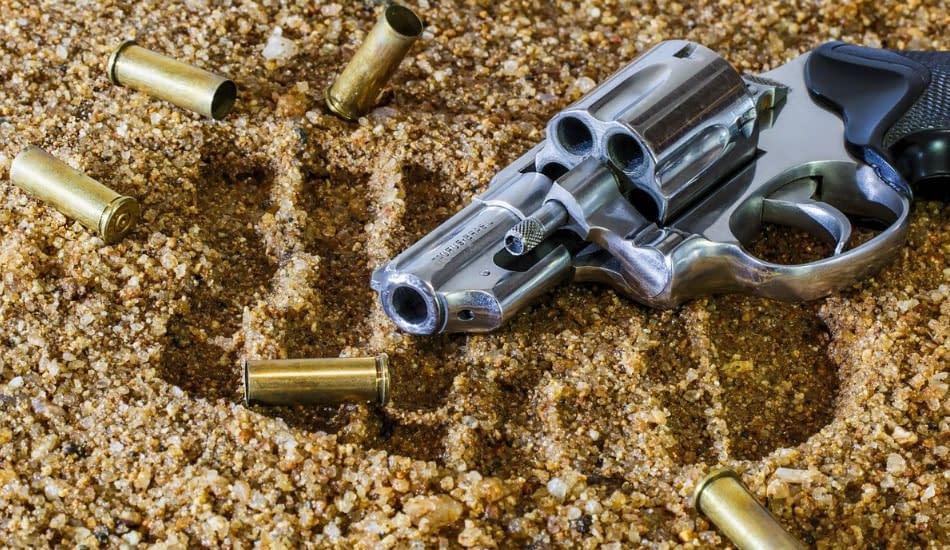 pistola proiettili