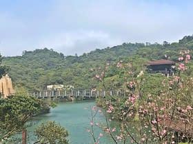 parco del lago degli innamorati a taiwan