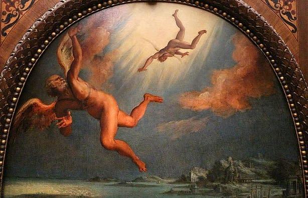 Caduta di Icaro Maso da San Friano Firenze