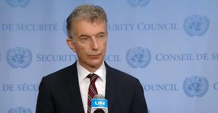 ambasciatore tedesco Christoph Heusgen