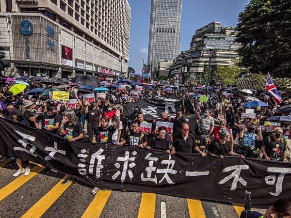 proteste a Taiwan