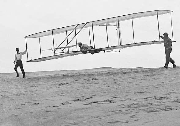 volare fratelli Wright prove