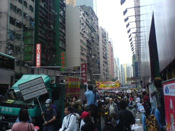 democrazia hong kong