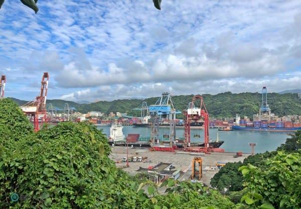 porto container gru
