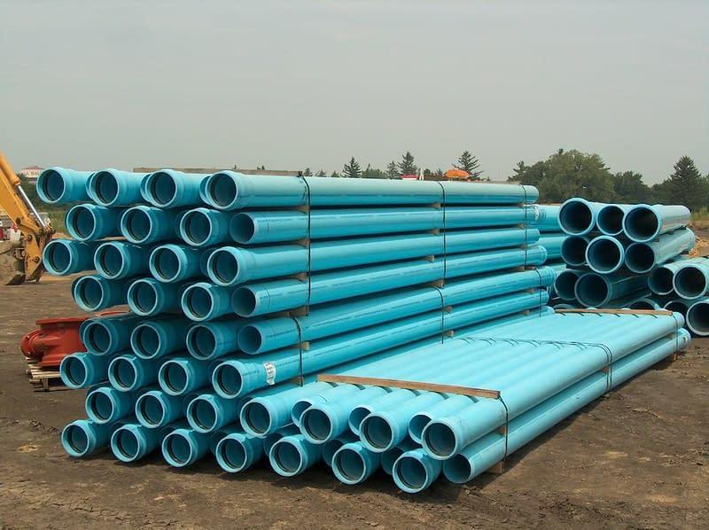 plastiche tubi acqua PVC