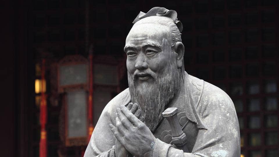 statua Confucio