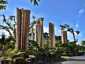 tempio Dazhishan Xuankong Taiwan