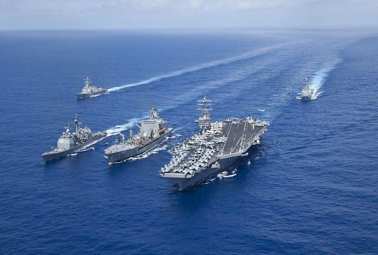 Navi e portaerei Americane