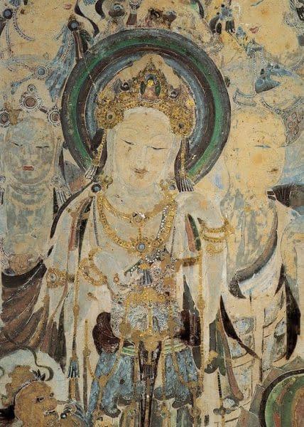 grotte Duhuang murale