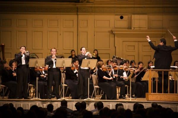 orchestra, teatro, musica, strumenti musicali, pubblico