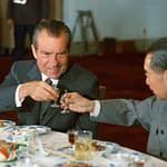 presidente nixon e premier Zhou Enlai