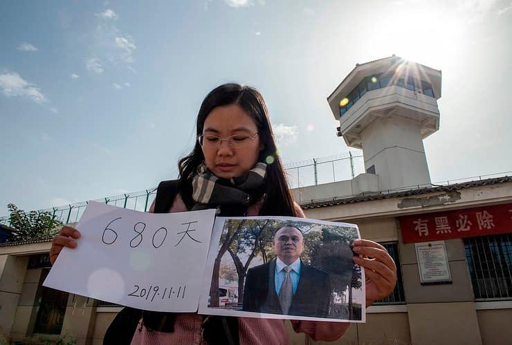 Xu Yan moglie avvocato cinese