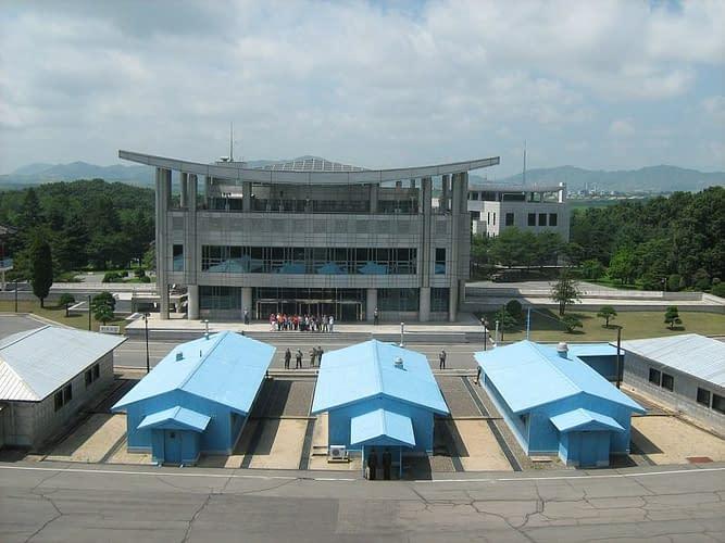la zona demilitarizzata al confine tra le due coree