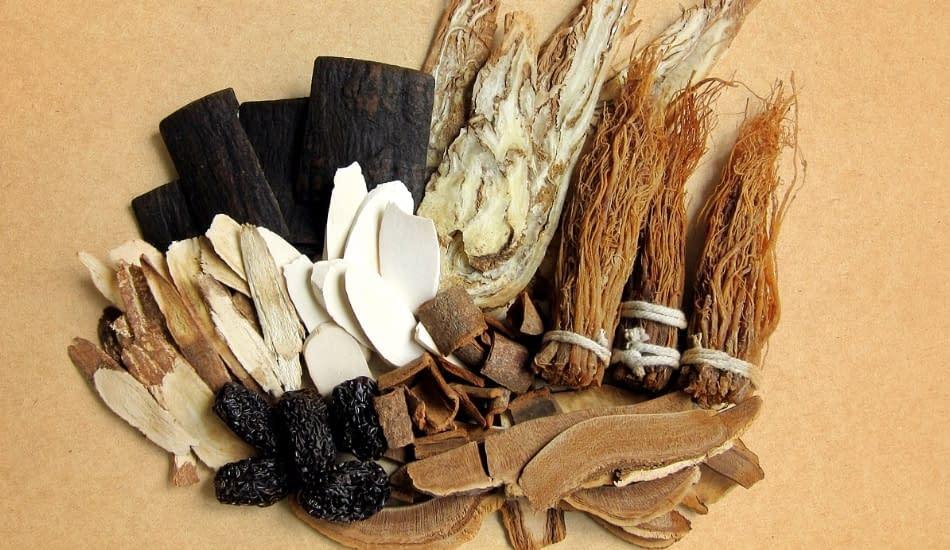componenti per decotto nella medicina tradizionale cinese
