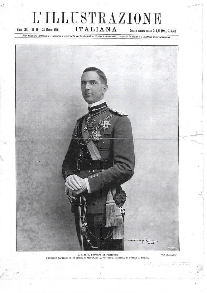 Umberto II di Savoia principe di Piemonte