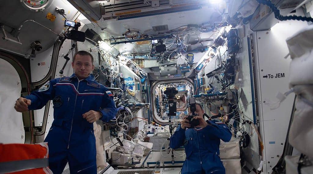 volo spaziale astronauti