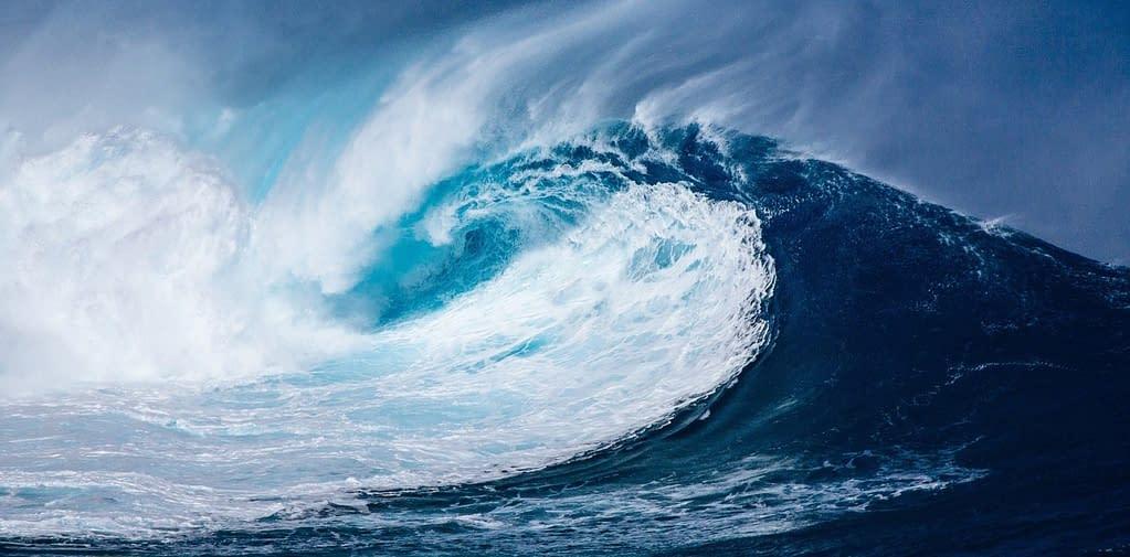 onde oceano cambiamenti climatici