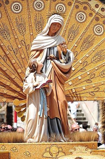 Sant'Anna carro Molise festa