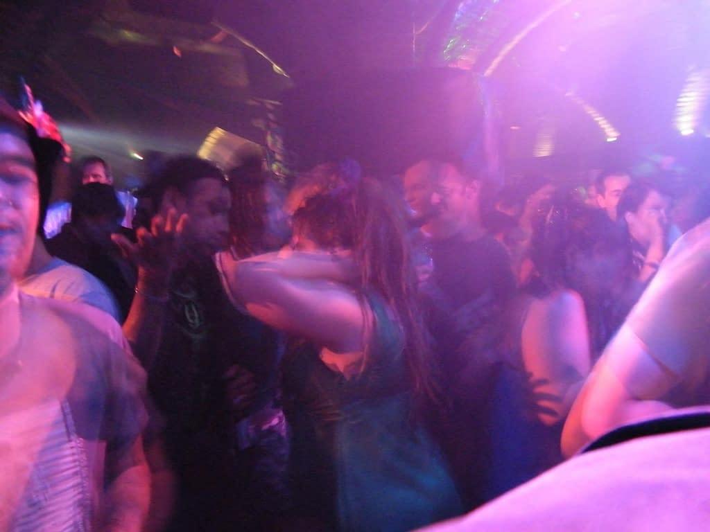 discoteca persone