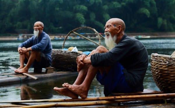 villaggio città pescatori fiume