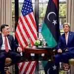 fayez al sarraj incontra il segretario di stato USA Kerry