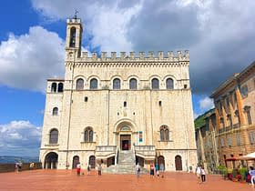 Gubbio Palazzo dei Consoli Piazza Grande