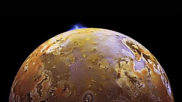 luna Io Giove