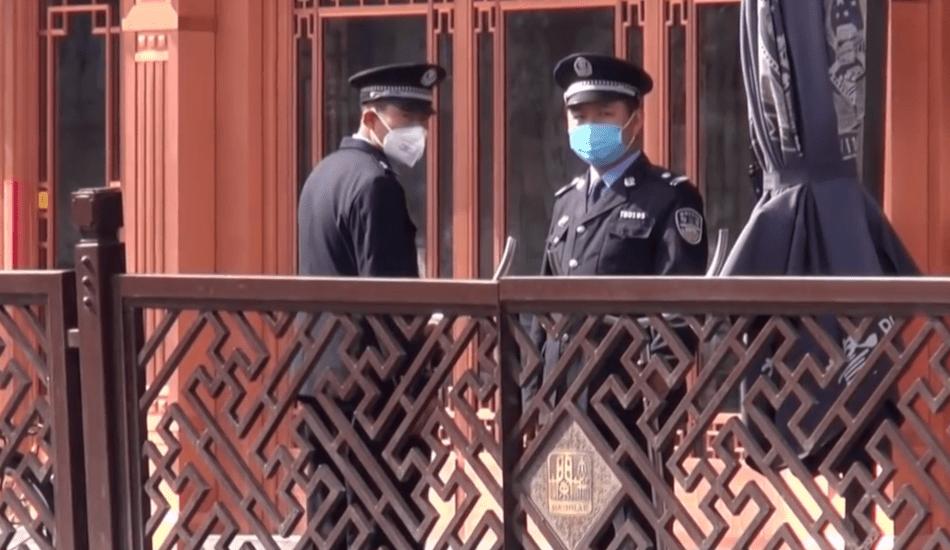 poliziotti Pechino
