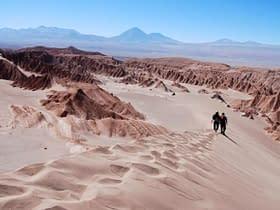 Deserto sabbia monti