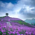Veduta panoramica nel Guizhou