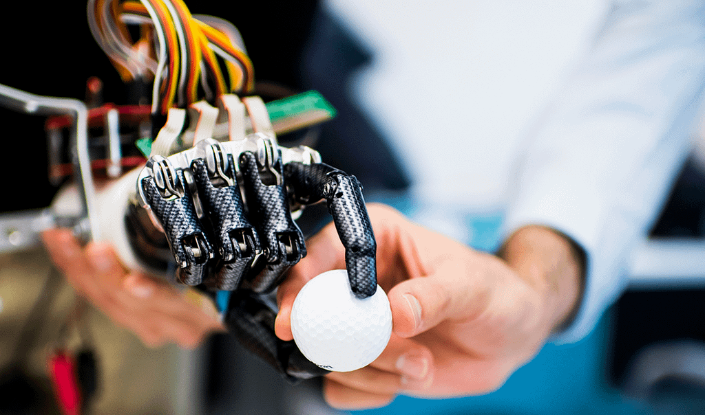 mano robot robot umanoidi