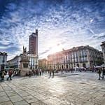 Piazza Castello a Torino