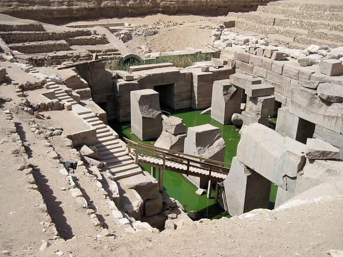 Osireion tempio abido