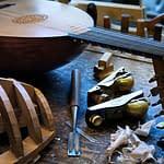 liuto musica legno
