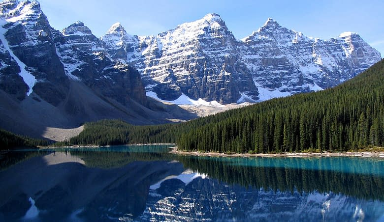 Canada parco banff lago louise