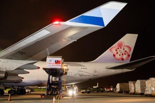 Taiwan coronavirus maschere aereo spedizioni