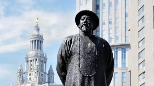 Lin Zexu statua
