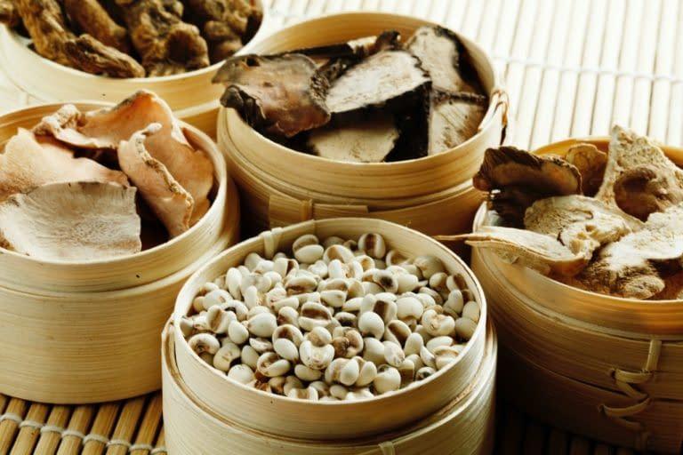 componenti della medicina tradizionale cinese