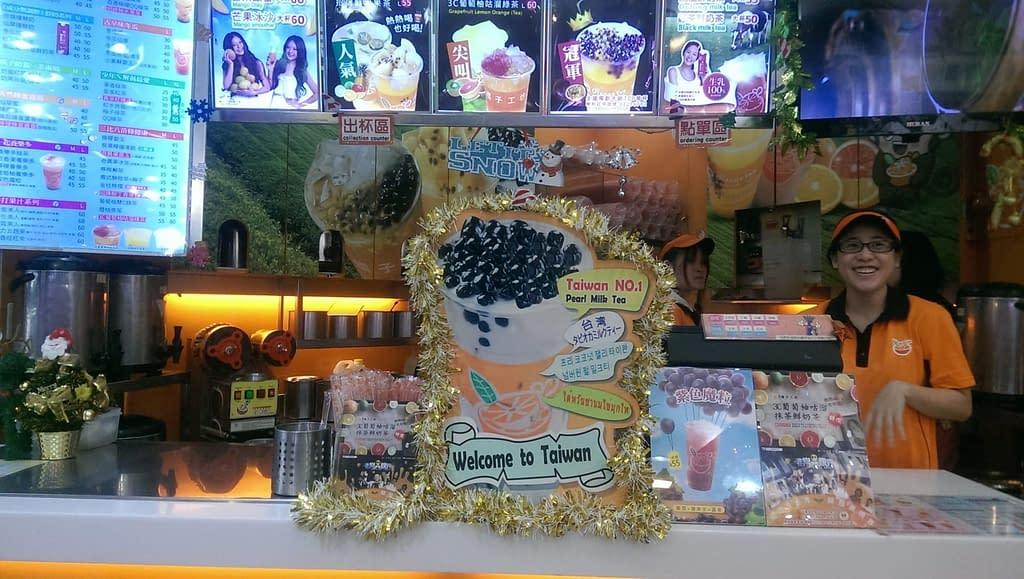 negozio bubble tea Taipei