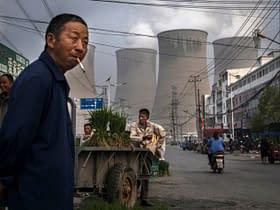 venditore ambulante cinese